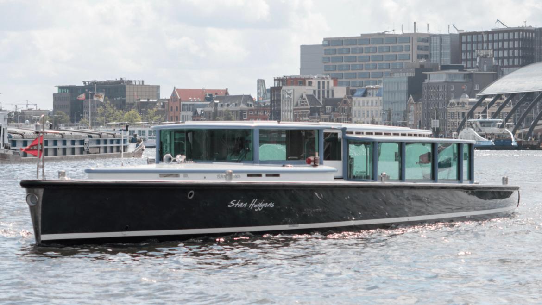 Vip-boot Stan Huygens vaart 2 maanden in onze hoofdstad!