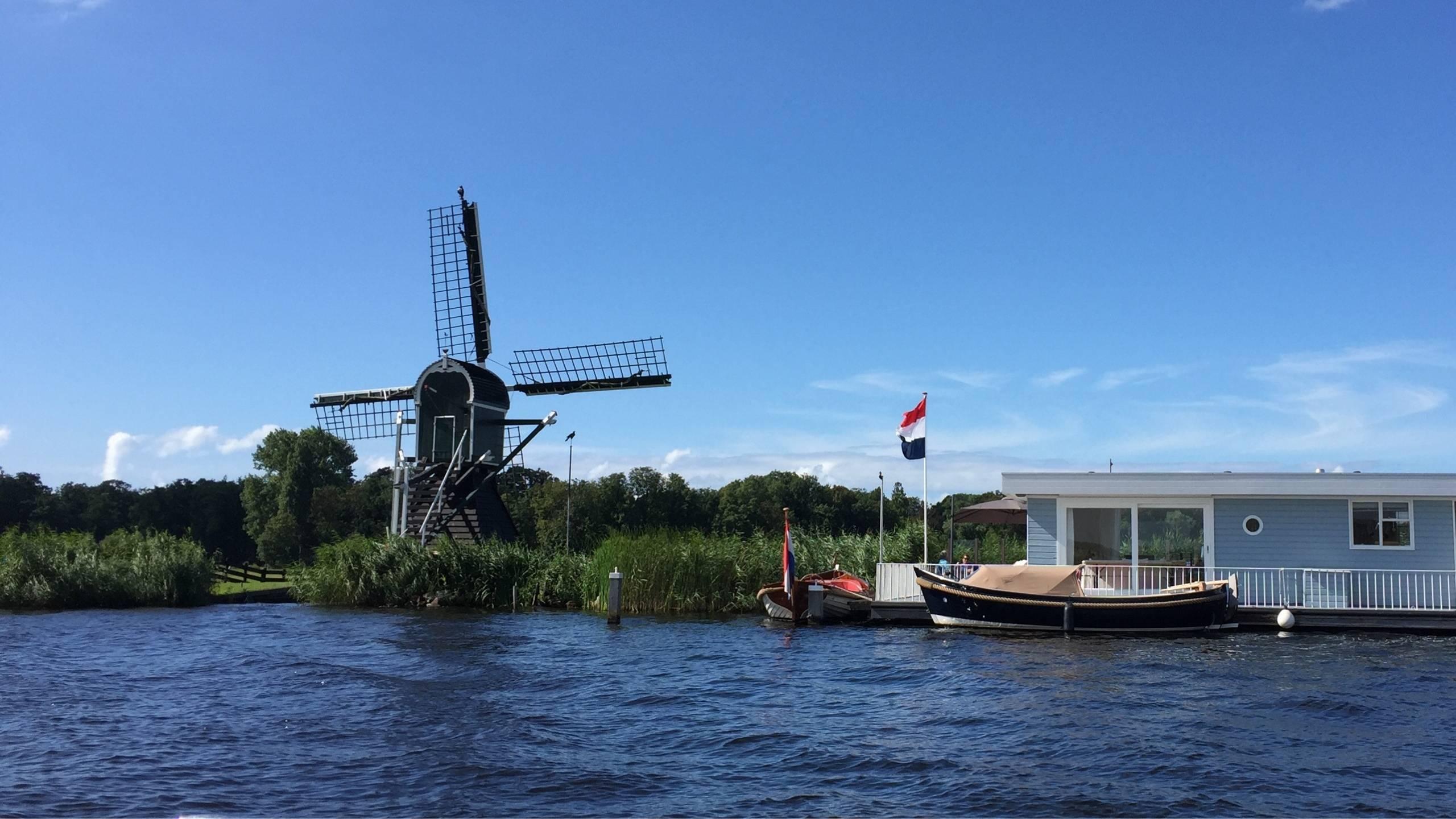 De molens van de Kagerplassen
