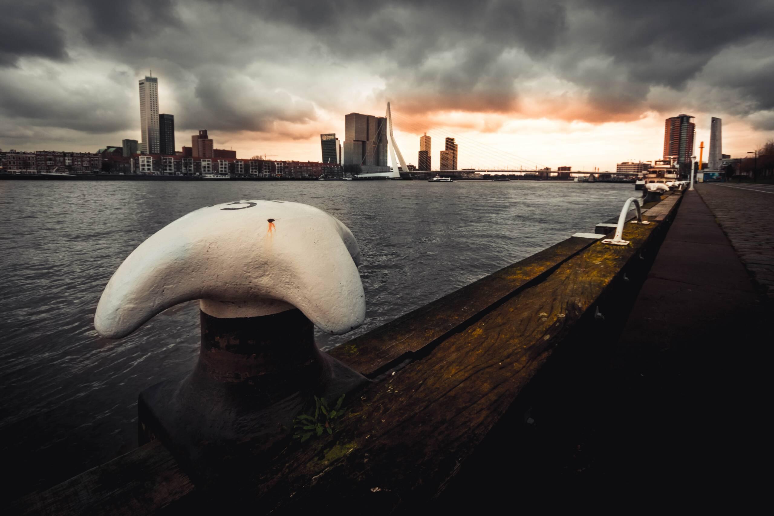 """Schippersblog """"Toen wij van Rotterdam vertrokken"""""""